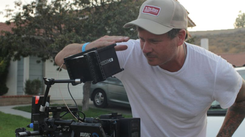 Tom DeLonge Monsters of California movie director film, photo courtesy of the artist