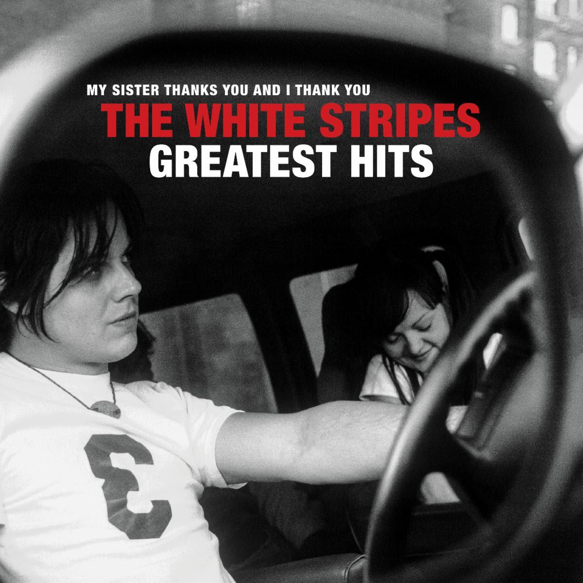 the white stripes greatest hits album cover artwork