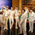BTS perform on Corden