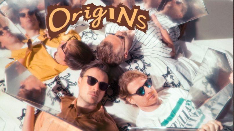 Django Django glowing the dark new album song stream origins title track