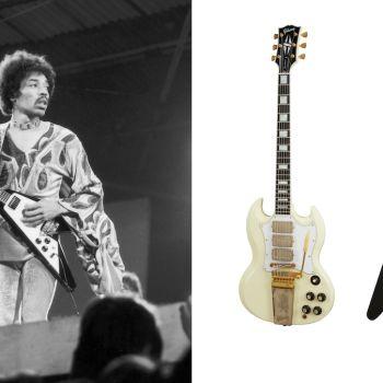 Jimi Hendrix and Gibson Guitars