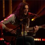 Kurt Vile Speed of the Sound of Loneliness live John Prine cover, screengrab via NBC