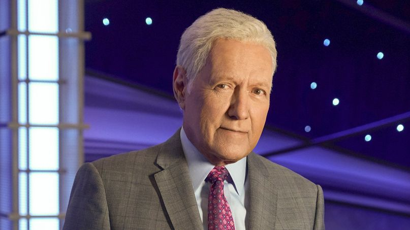Alex Trebek, photo courtesy of Jeopardy!