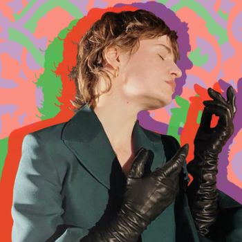 Christine and the Queens finding a stage in quarantine interview video