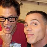 Steve-O hospitalized Johnny Knoxville hospital Jackass 4 new movie accident injury treadmill, photo via artist's Facebook