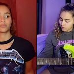 Zaria Shreds Metallica on TikTok