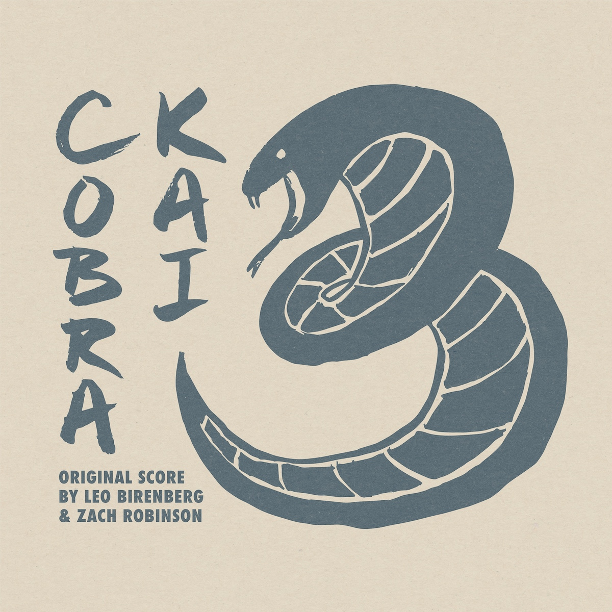 cobra kai season 3 netflix soundtrack cover art