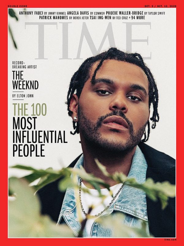 time 100 The Weeknd 1 cover 600x800 1 10 Times The Weeknd Blew Our Minds in 2020