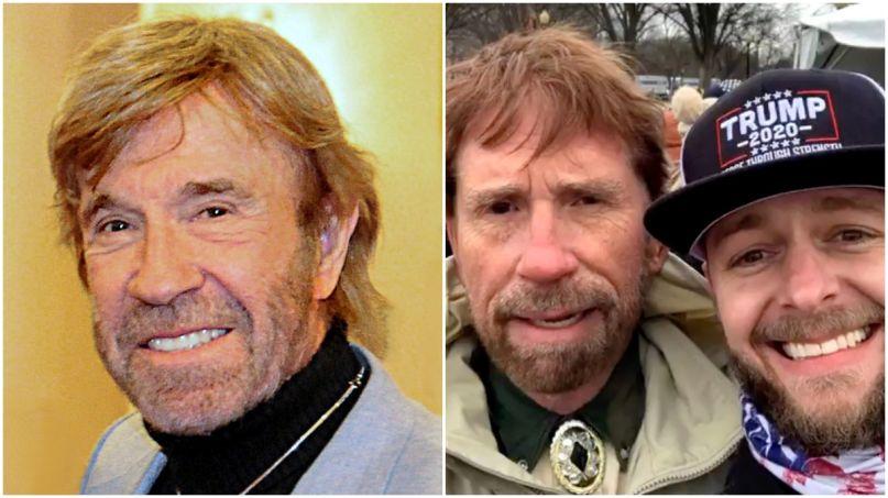 Chuck Norris Wasn't At Capitol Riot