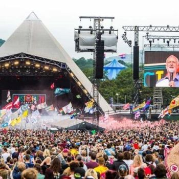 Glastonbury, photo courtesy of festival
