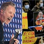 Metallica Music Istanbul Protests
