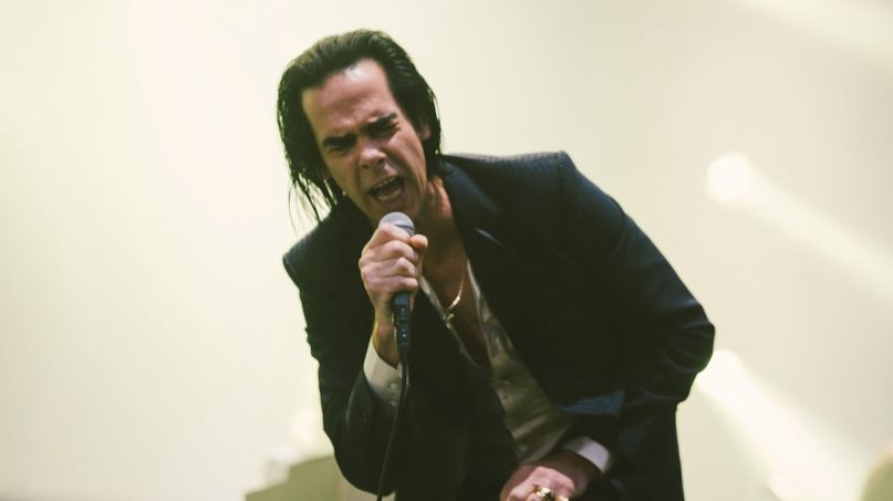 Nick Cave, photo by Ellie Pritts