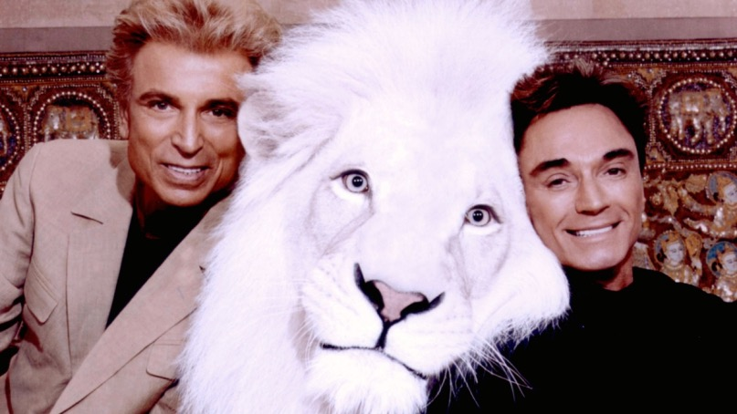 Siegfried & Roy, photo via Getty