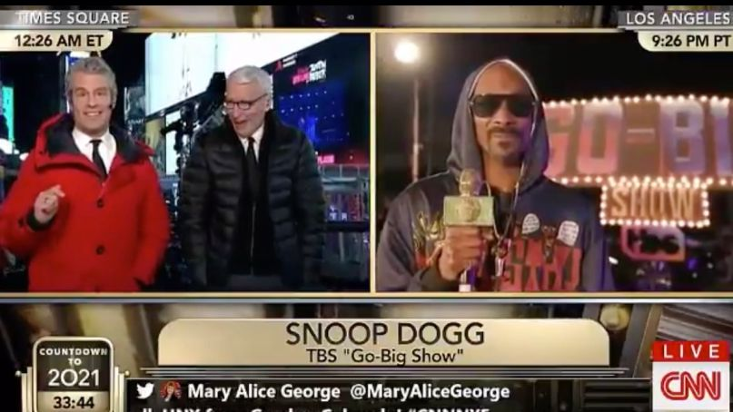 Snoop Dogg getting high CNN