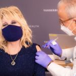 Dolly Parton receives COVID-19 vaccine