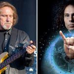 Geezer Butler Ronnie James Dio devil horns